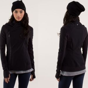 Lululemon Bhakti Yoga Jacket Black Size 4